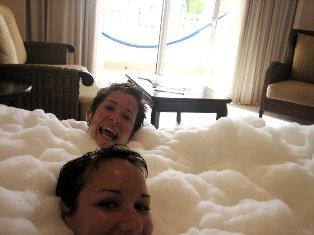 Jordan capri in bubble bath movies