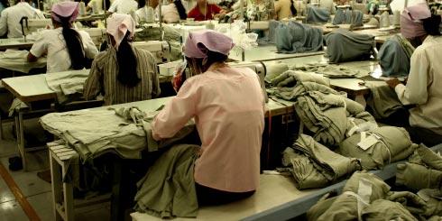 Sweatshop labour in China (etc)?